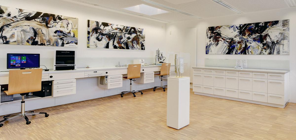 Praxislabor der Zahnarztpraxis